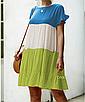 """Дуже круте літнє жіноче різнобарвне плаття великих розмірів """"Тріша"""", фото 7"""
