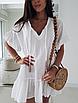 """Очень легкое летнее женское короткое платье свободного кроя с завязками """"Тэйлер"""", фото 4"""