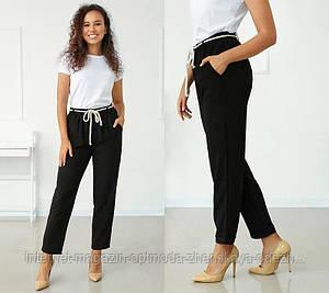 """Летние стильные брюки на резинке """"Victoria"""""""