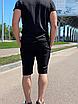 """Стильные мужские летние шорты с подкладкой из сетки """"Бертон"""", фото 4"""