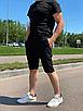 """Стильные мужские летние шорты с подкладкой из сетки """"Бертон"""", фото 6"""