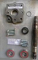 Переоборудование под насос дозатор к гуру мтз (плита алюминиевая)