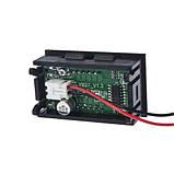 Цифровой вольтметр постоянного тока 4,5-30В DC Синий автономный, фото 2