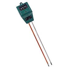 Аналізатор грунту 3в1 pH Метр Вологомір Люксметр