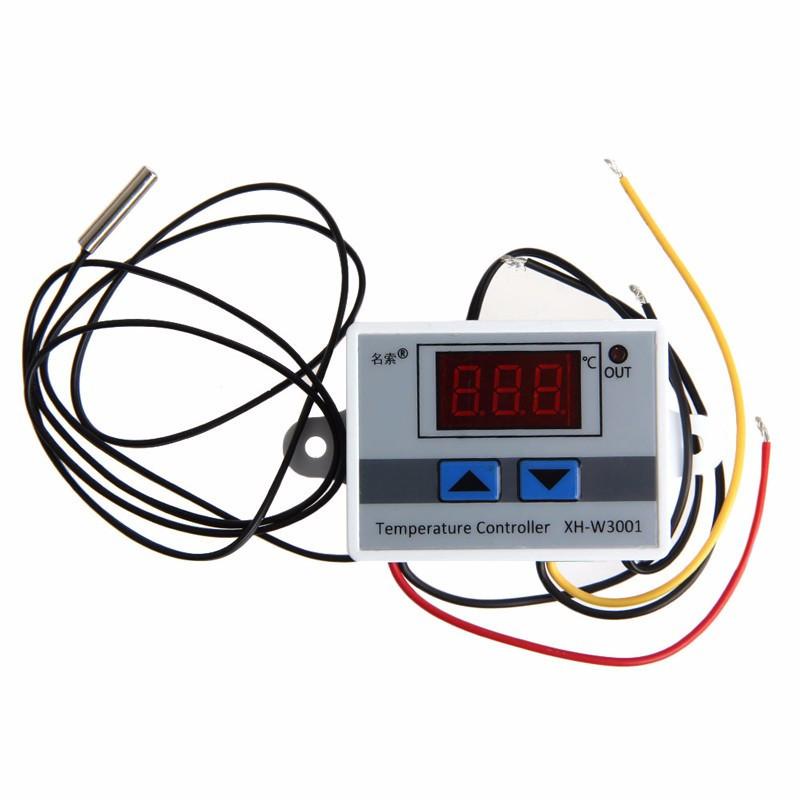 Термореле термостат температурное реле терморегулятор XH-W3001 питание на 12В - фото 2