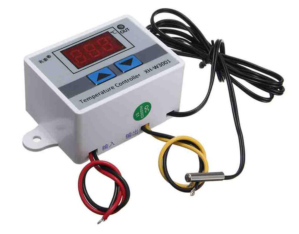 Термореле термостат температурное реле терморегулятор XH-W3001 питание на 12В - фото 3
