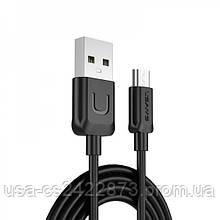 Дата кабель Usams US-SJ098 U-Turn Series USB to MicroUSB (1m)