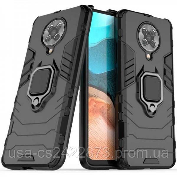 Epik Ударопрочный чехол Transformer Ring for Magnet для Xiaomi Redmi K30 Pro / Poco F2 Pro