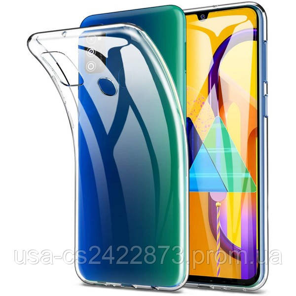 Epik TPU чехол Epic Transparent 1,0mm для Samsung Galaxy M31