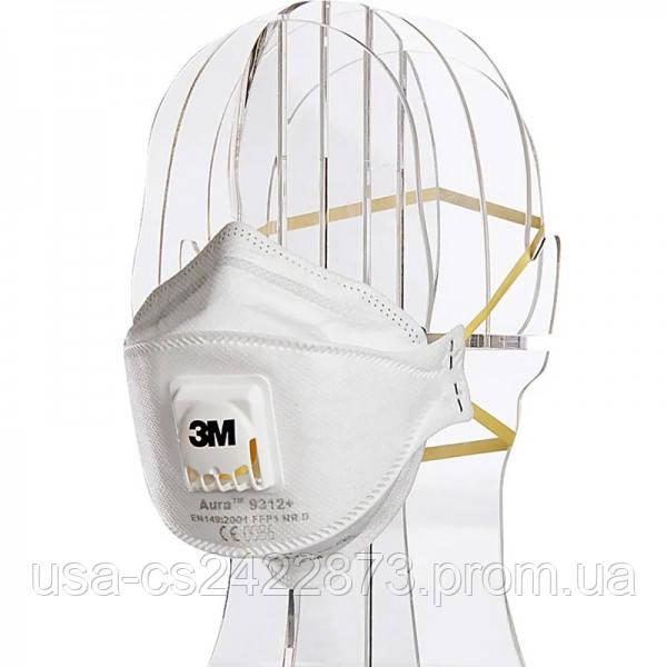 3m Респиратор маска 3М Aura 9312+ (FFP1) с клапаном выдоха