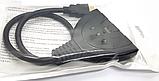 HDMI 2K свіч з 3х в 1 спліттер switch перемикач комутатор світч, фото 6