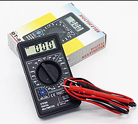 Новый цифровой мультиметр DT 830B Тестер + Щупы 9V прибор вольтметр