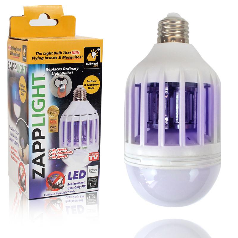 Антимоскітна лампа принада лампочка від комарів
