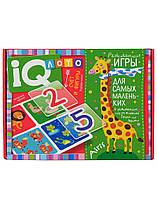 IQ лото. Розвиваючі ігри. Рахунок і фігури. Підбери число
