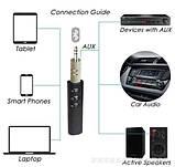 Блютуз гарнітура A2DP СТЕРЕО AUX +МІКРОФОН Bluetooth car stereo авто, фото 5