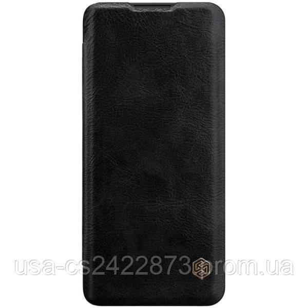 Nillkin Кожаный чехол (книжка) Nillkin Qin Series для Huawei P40 Pro