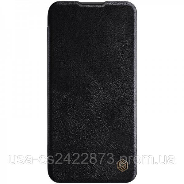 Nillkin Кожаный чехол (книжка) Nillkin Qin Series для Huawei P40 Lite / Nova 7i / Nova6SE