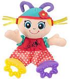 Іграшка шуршалку Sozzy, яскрава, шарудить, прорізувач для дітей 0-3г, фото 2