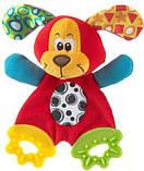 Іграшка шуршалку Sozzy, яскрава, шарудить, прорізувач для дітей 0-3г, фото 4