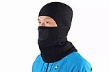 Балаклава ROCKBROS 071 фліс баф маска бандана шарф лижна тепла бафф, фото 2