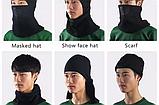Балаклава ROCKBROS 071 фліс баф маска бандана шарф лижна тепла бафф, фото 5