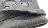 Балаклава с прорезями для глаз и рта зимняя +флис до -20 подшлемник, фото 4