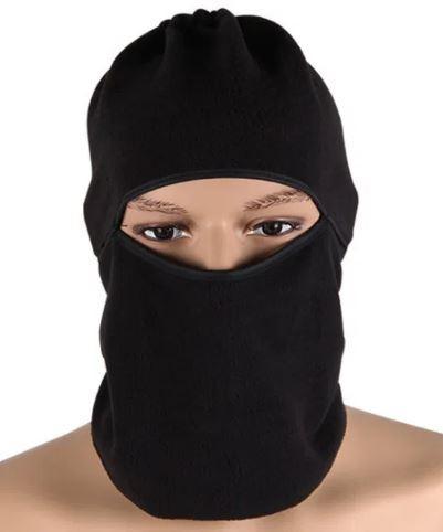 Балаклава лыжная термо-флисовая маска зимняя теплая подшлемник