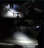 Велофара MACHFALLY EOS100 XP-E USB зарядка вело фара +вбудований акум, фото 2