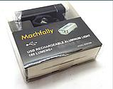 Велофара MACHFALLY EOS100 XP-E USB зарядка вело фара +вбудований акум, фото 3