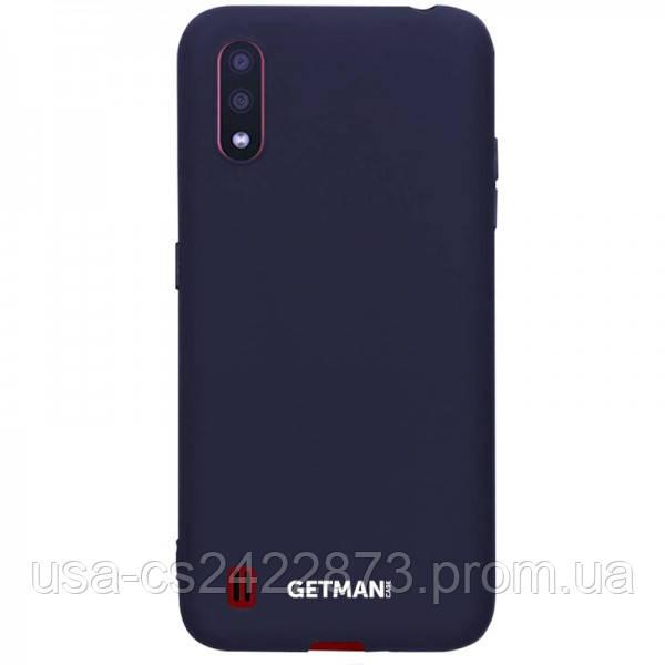 Чехол Silicone Cover GETMAN for Magnet для Samsung Galaxy A01