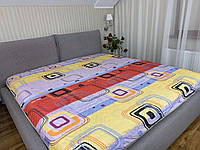 """""""квадраты"""" стеганное летнее одеяло покрывало двуспальный размер 175/205"""