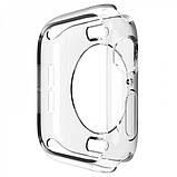 Чехол TPU прозрачный 360 для Apple Watch 42mm, фото 4