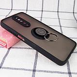 TPU+PC чехол Deen ColorEdgingRing под магнитный держатель для Xiaomi Redmi K30, фото 3