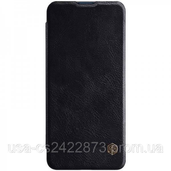 Кожаный чехол (книжка) Nillkin Qin Series для Xiaomi Mi 10 / Mi 10 Pro