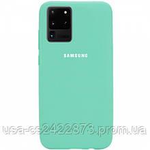 Epik Чехол Silicone Cover Full Protective (AA) для Samsung Galaxy S20 Ultra