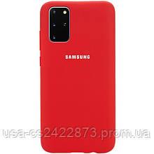 Epik Чехол Silicone Cover Full Protective (AA) для Samsung Galaxy S20+