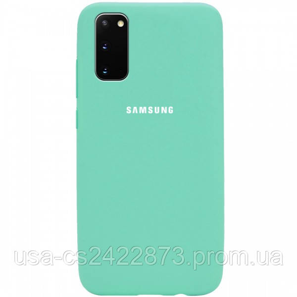 Epik Чехол Silicone Cover Full Protective (AA) для Samsung Galaxy S20