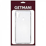 GETMAN TPU чехол GETMAN Transparent 1,0 mm для Samsung Galaxy A11 / M11, фото 4
