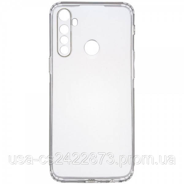 GETMAN TPU чехол GETMAN Transparent 1,0 mm для Realme 5 Pro