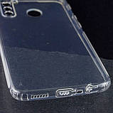 GETMAN TPU чехол GETMAN Transparent 1,0 mm для Realme 5 Pro, фото 3