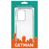 GETMAN TPU чехол GETMAN Transparent 1,0 mm для Samsung Galaxy S20 Ultra, фото 4