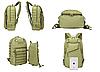 Рюкзак тактический A59 40 л / Рюкзак армейский Оливковый (50 х 32 х 23 см), фото 9
