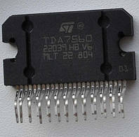 Микросхема TDA7560 ZIP25 Усилитель 4X45Вт