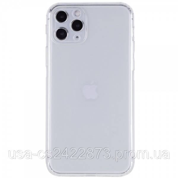 "GETMAN TPU чехол GETMAN Transparent 1,0 mm для Apple iPhone 11 Pro Max (6.5"")"