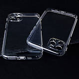 "GETMAN TPU чехол GETMAN Transparent 1,0 mm для Apple iPhone 11 Pro Max (6.5""), фото 3"