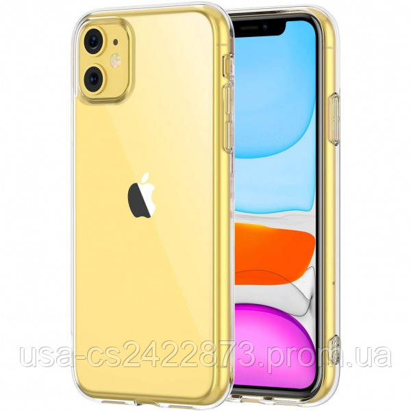 "Epik TPU чехол Epic Transparent 1,0mm для Apple iPhone 11 (6.1"")"