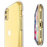 "Epik TPU чехол Epic Transparent 1,0mm для Apple iPhone 11 (6.1""), фото 2"
