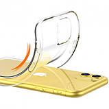 "Epik TPU чехол Epic Transparent 1,0mm для Apple iPhone 11 (6.1""), фото 3"