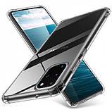 GETMAN TPU чехол GETMAN Ease с усиленными углами для Samsung Galaxy S20+, фото 2