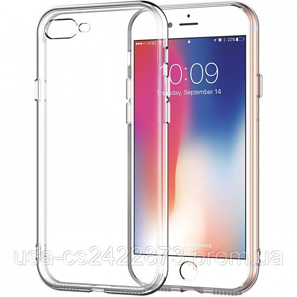 """Epik TPU чехол Epic Transparent 1,0mm для Apple iPhone 7 plus / 8 plus (5.5"""")"""